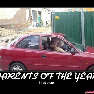PARENTS OF THE YEAR!